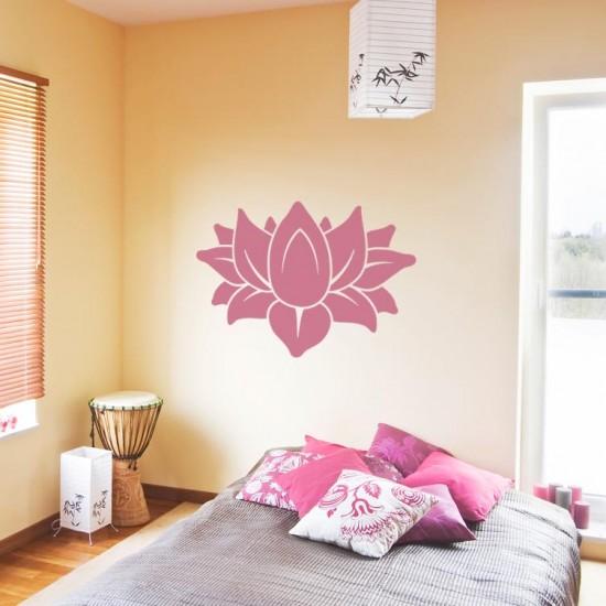 стикер за стена Цвете лотос