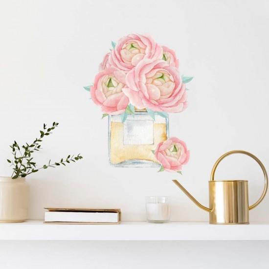 стикер за стена с цвете