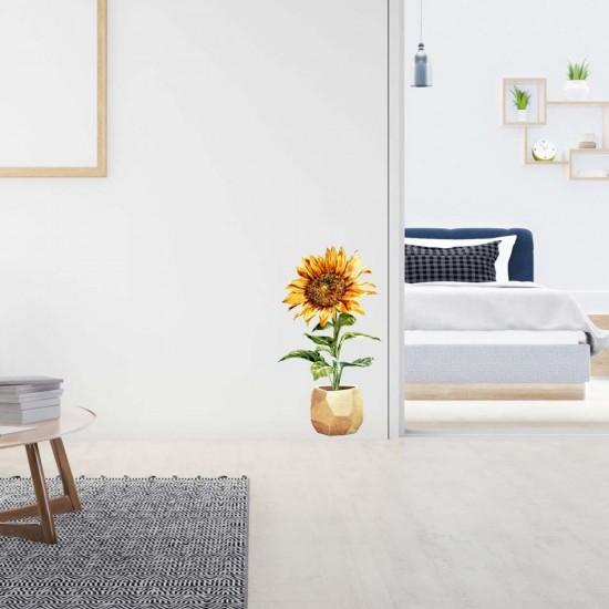 слънчоглед за лепене на стена