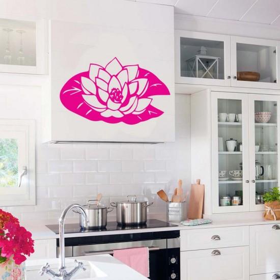 Водна лилия - стикер за стена