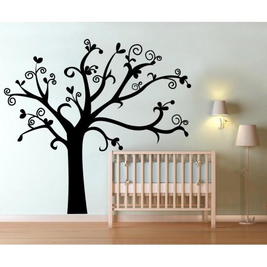 Стикер за стена Дърво за детска стая
