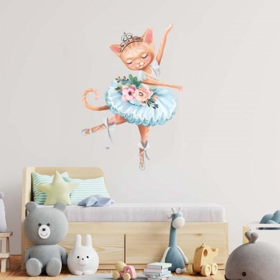 Коте принцеса - стикер