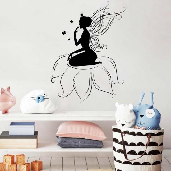 Детски стикер Горска фея