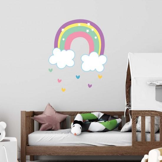 стикер с дъга за детска стая