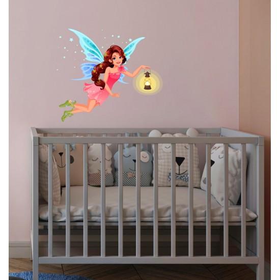 стикер фея за стена в детска стая