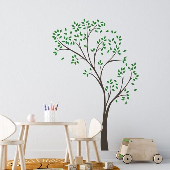 стикер детско дърво