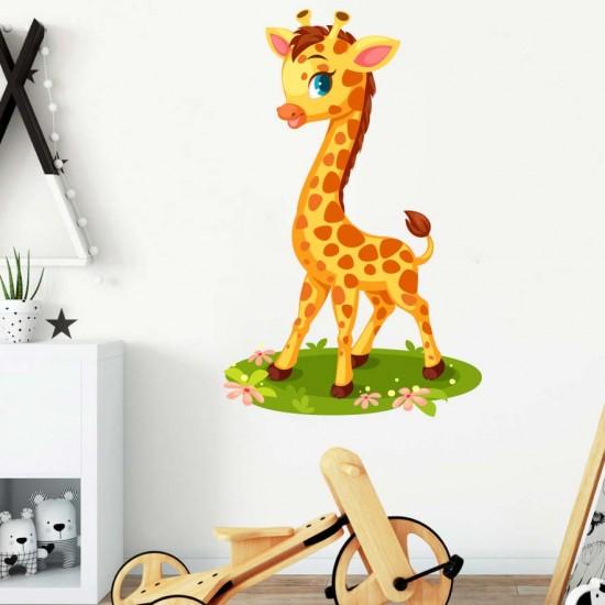 Бебе жирафче - стикер