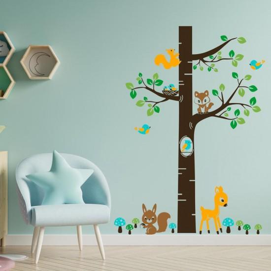 Приказно дърво - стикер за стена