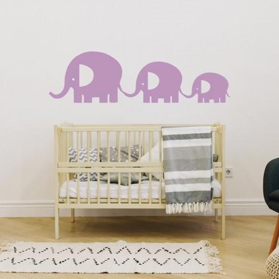 детски стикер Слончета за опашка