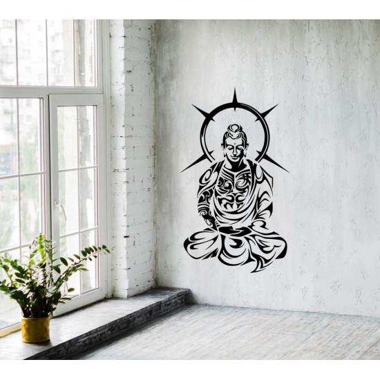 стикер за стена Буда