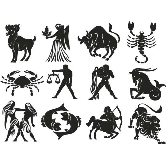стикери зодии
