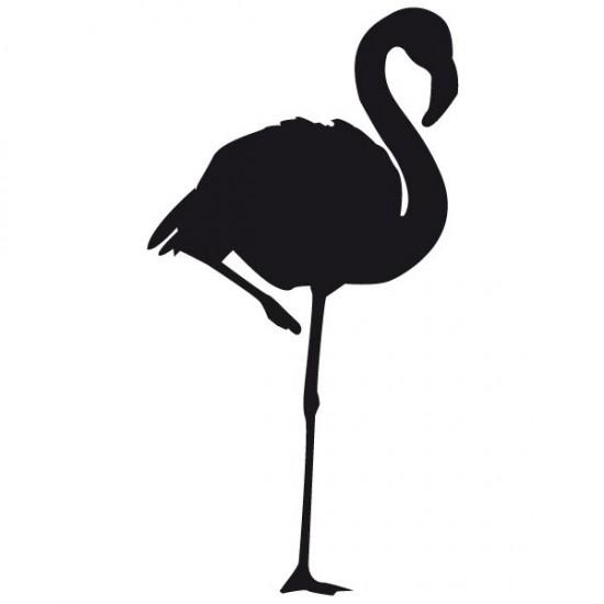 стикер за стена фламинго