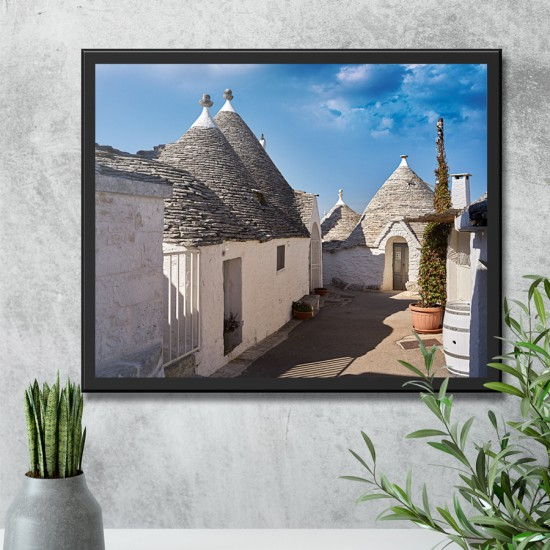 Алберобело -  Фото пано пейзаж от Италия, Картина - Принт в рамка