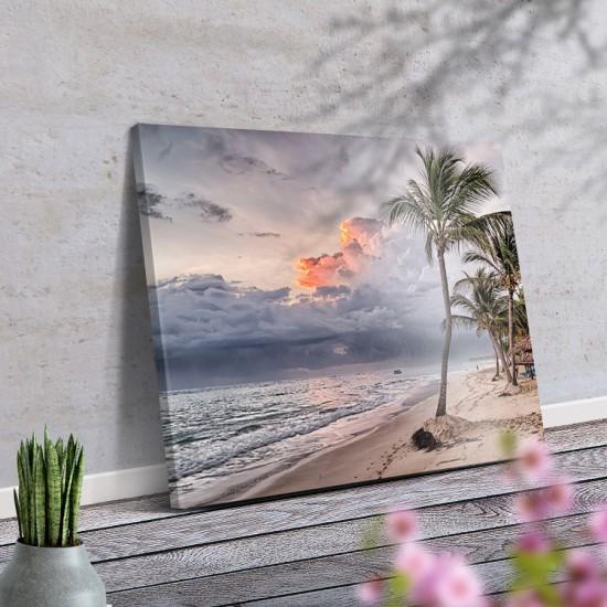 Крайбрежно утро - Фото пано - Фото пано пейзаж от брега, Картина - Принт в рамка