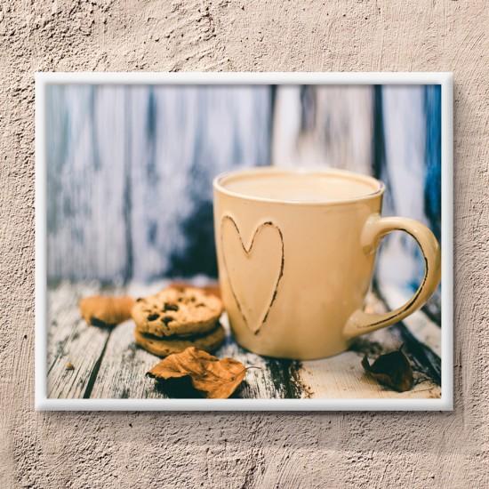 Картина Топло капучино - Фото пано