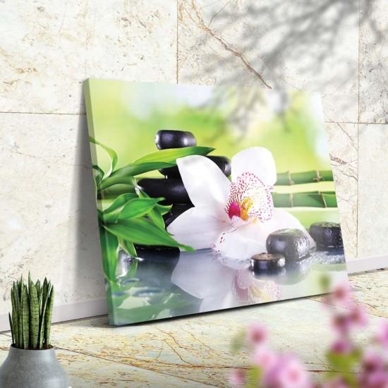 Дзен Благоденствие - Фото пано - картина за баня, йога център
