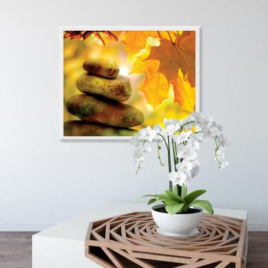 Дзен Златно време - Фото пано - картина за баня, йога център