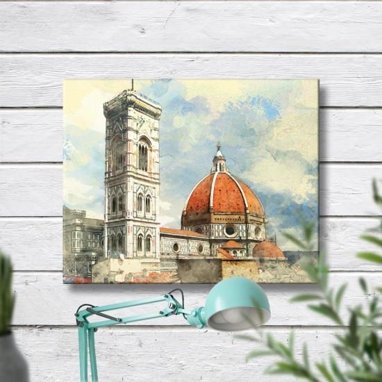 Санта Мария дел Фиоре - картина флоренция италия