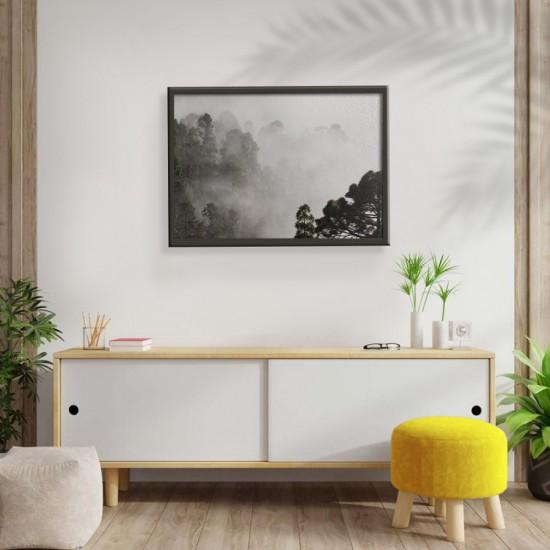 Драматична мъгла - Картина - Принт в рамка