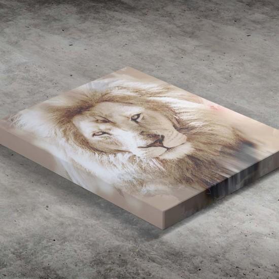 Лъв - Роден за свобода - Картина - Принт в рамка