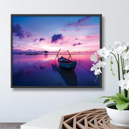 картина с лодка