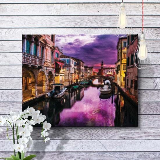 Нощна Венеция - Картина - Принт в рамка