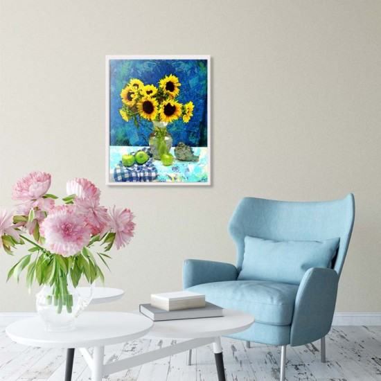 картина слънчогледи