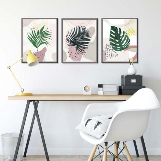 картини с тропическа растителност