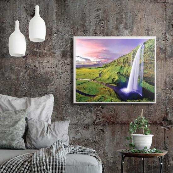 Картина Фантастичен водопад - Принт в рамка