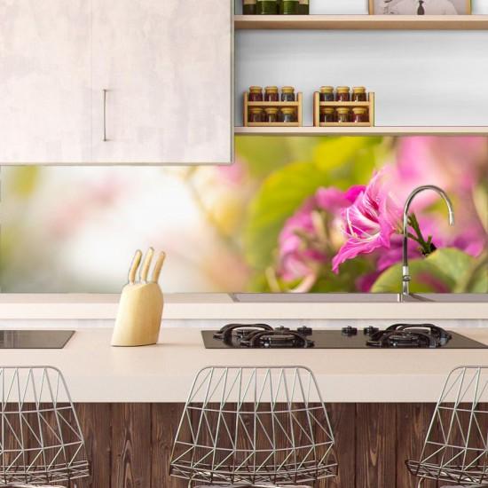 Цветен банер - Гръб за кухня