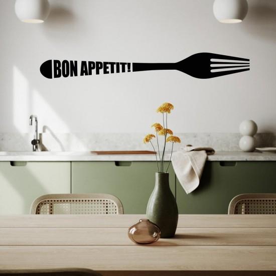 Стикер за кухня - Bon appetit