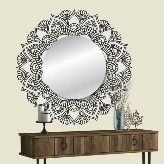 стикери за стена с огледало - мандала