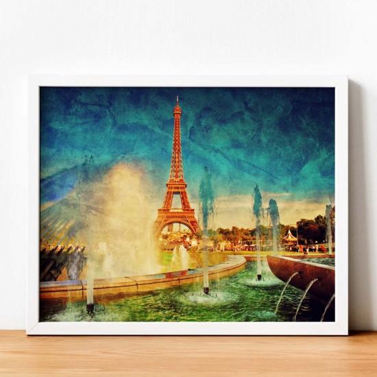айфелова кула картина спомен от париж
