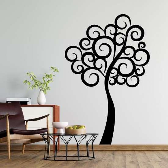 Стикер Дърво - Густав Климт