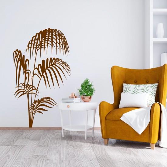 Кокосова палма-стикер за лепене