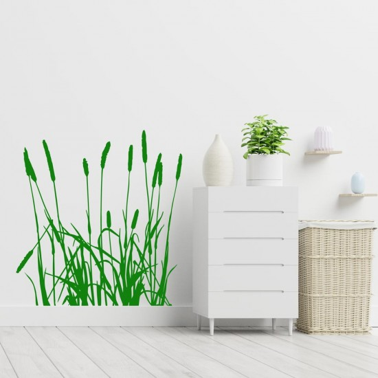 стикер за стена растения