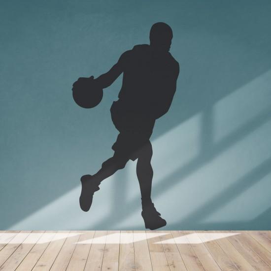 стикер баскетболист