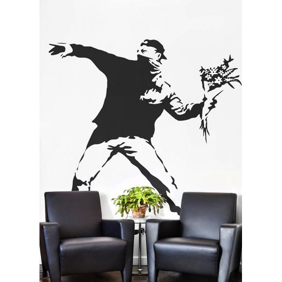 арт стикер за декорация на стена