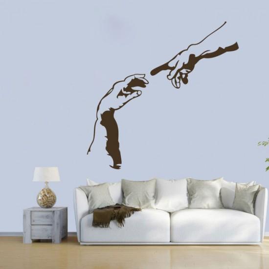 стикер за стена микеланджело