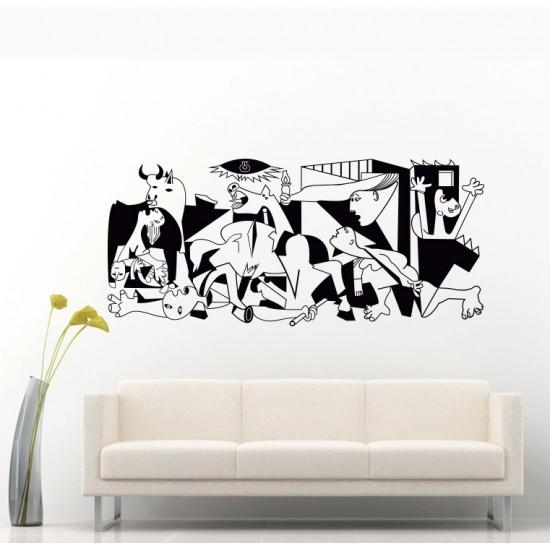 Герника на Пикасо стикер за стена