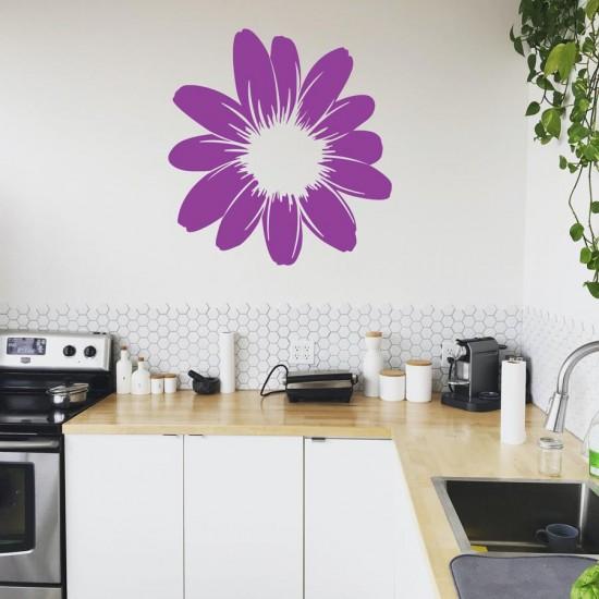 Пролетни листенца - стикер за стена