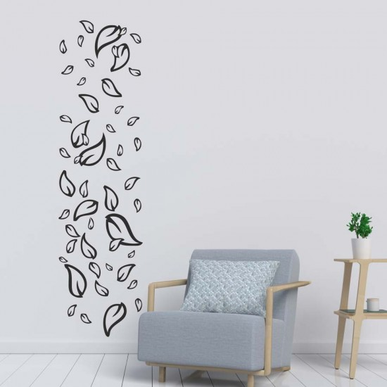 Листа - колона - стикер за стена