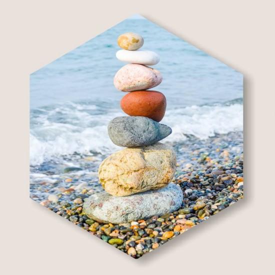 пана за декорация на стена с море