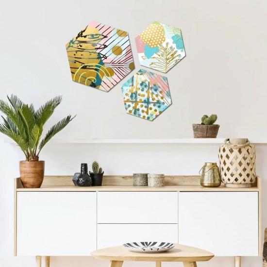 Абстрактни пана за декорация шестоъгълник