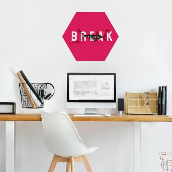 Break Rules пано за декорация на стена