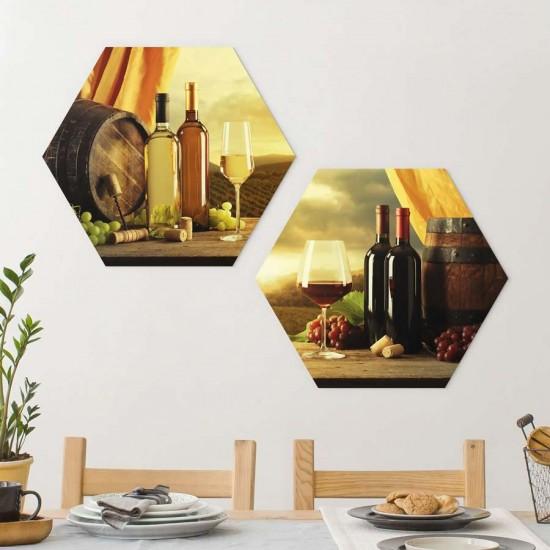Винарна Tuscany - пана с Вино