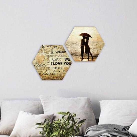 Колаж LOVE - пана