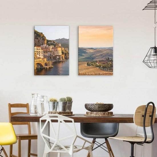 Пана за стена с пейзажи от Тоскана