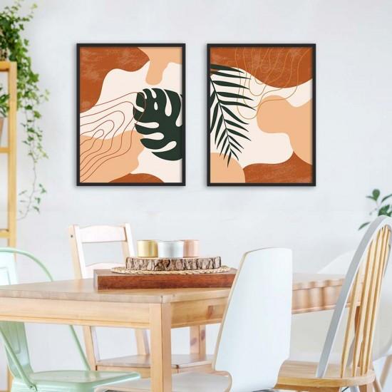 Пана за стена с Тропически листа
