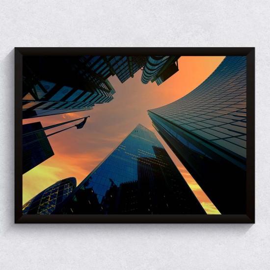 Небостъргачи  - Фото картина, улична фотография